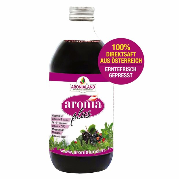 Aronia 36 Kraeutersaft Plus
